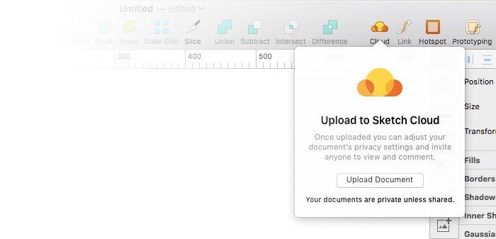 Subir archivo a Sketch Cloud