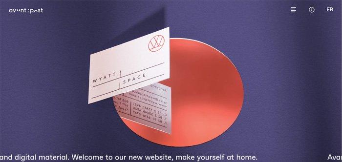 Ejemplo portfolio diseño - Atelier Avant Post