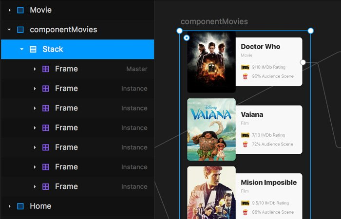 Stacks y componentes con Framer X - uiFromMars