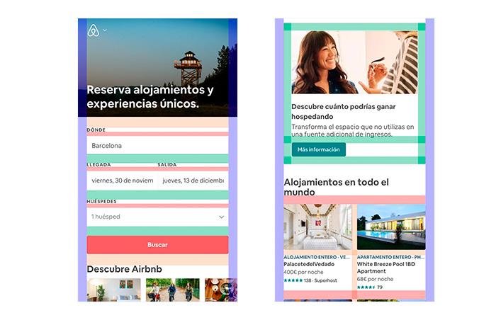 Retícula Airbnb