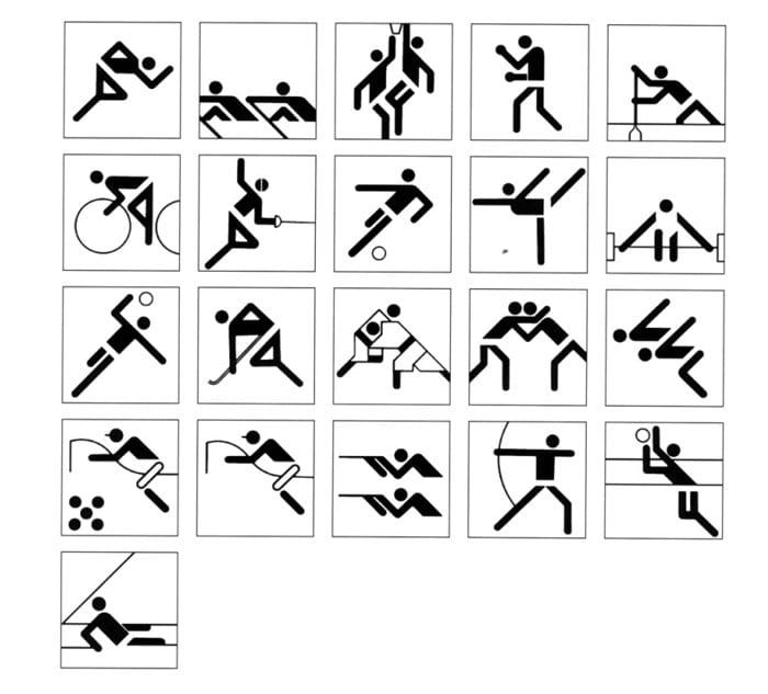 Otl Aicher - Juegos Olímpicos en Munich 1972
