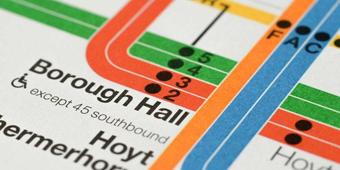 Metro NYC - Massimo Vignelli