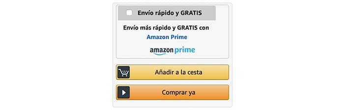 Ley de Hick - Checkout Amazon