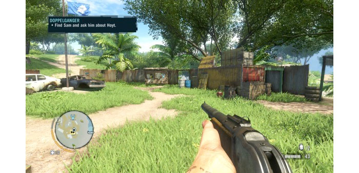 Interfaz Far Cry 3