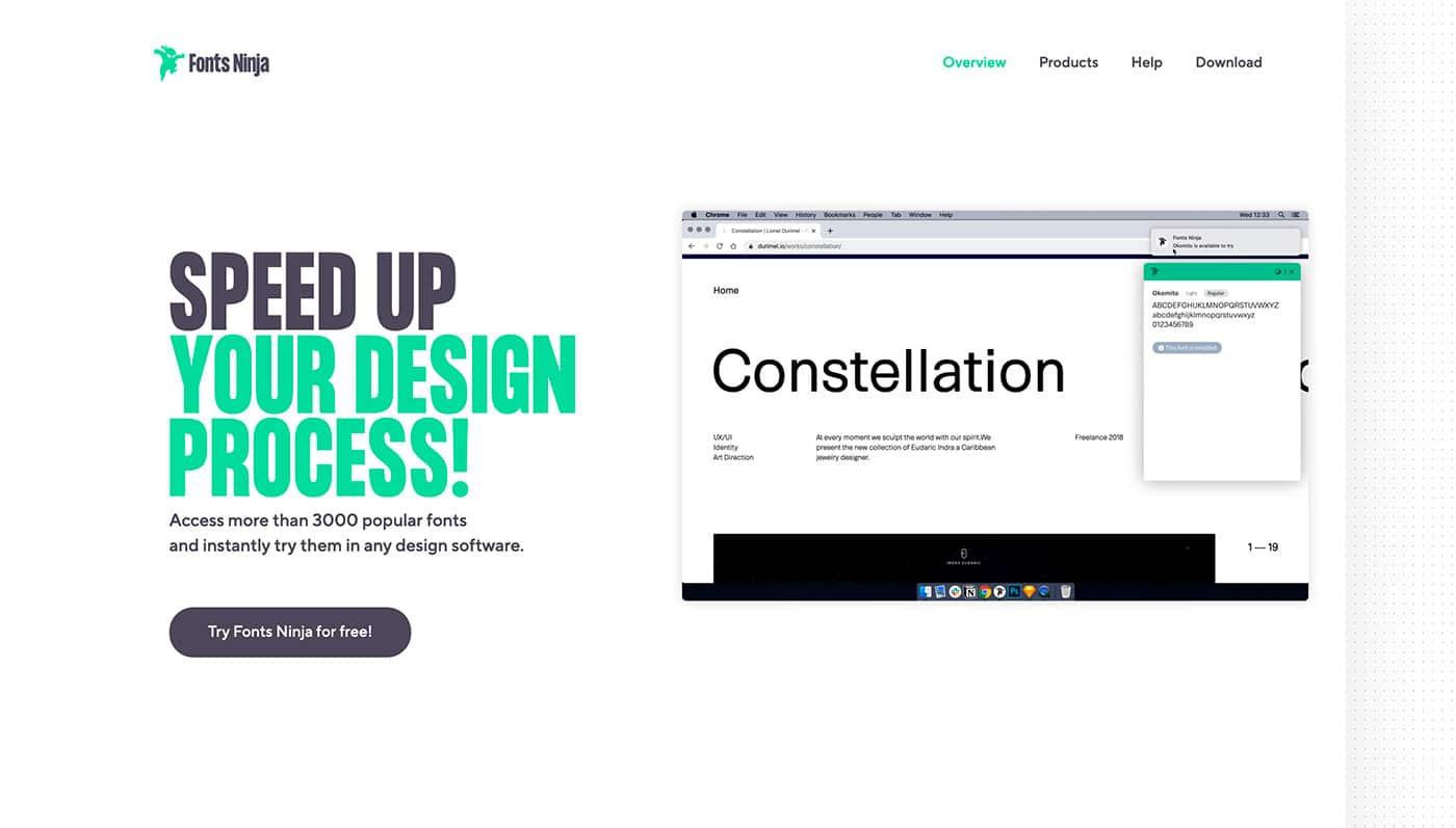 Fontface Ninja - Herramientas diseño UI