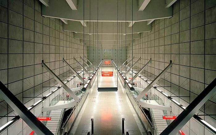 Metro de Bilbao (Norman Foster)