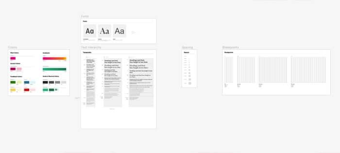 Ejemplo de Design Tokens