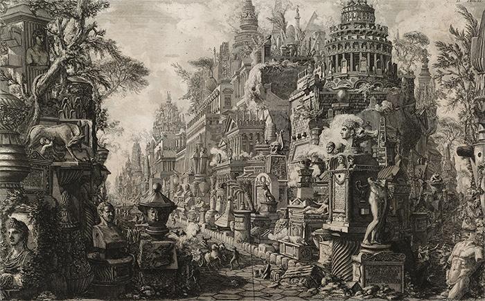 Secondo Frontespizio (Giovani Piranesi, 1757)