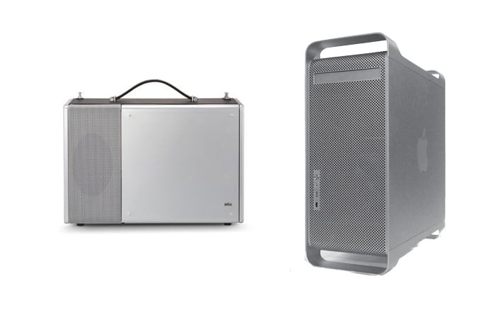 Braun T1000 Radio (1967) | Power G5 (2003)