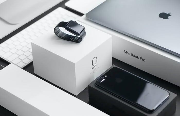 Apple y su marca en el packaging